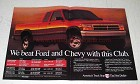 1994 Dodge Dakota Club Cab Pickup Truck Ad - We Beat