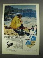 1974 Belair Cigarettes Advertisement - Fresh With Belair
