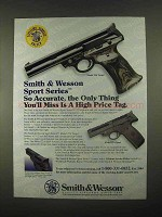 1997 Smith & Wesson Model 22A Target, Sport Pistol Ad