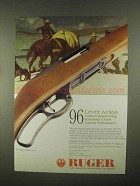 1997 Ruger Model 96 Rifle Ad - Today's Engineering