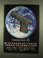 1997 Glock Pistol Ad - Global Symbol for Protection
