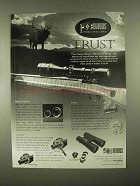 1997 Burris Optics Ad - Trust
