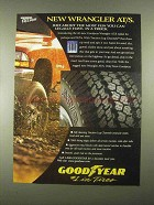 1997 Goodyear Wrangler AT/S Tires Ad - About Most Fun