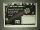 1997 Thompson Cigar Punch Rothschild Cigar Ad