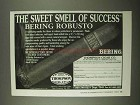 1997 Thompson Cigar Bering Robusto Cigar Ad