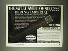 1997 Thompson Cigar Bering Imperial Ad - Success
