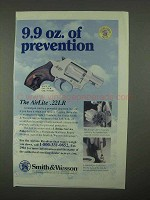 1997 Smith & Wesson AirLite .22LR Revolver Ad