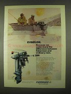 1974 Evinrude Sportwin Outboard Motor Ad - Understand