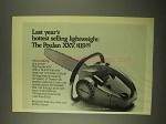 1974 Poulan XXV Chainsaw Ad - Hottest Selling