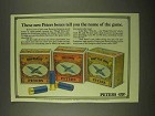 1974 Peters Shotgun Shells Ad - The Name of the Game