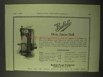 1922 Buffalo Forge 10-in. Junior Drill Ad