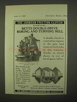 1922 Carlyle Johnson Double Clutch Ad