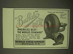 1922 Buffalo Forge Gas and Fume Exhausters Ad