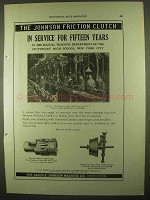 1922 Carlyle Johnson Friction Clutch Ad - Fifteen Years
