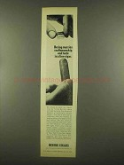 1965 Bering Cigar Ad - Marries Craftsmanship and Taste
