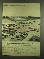 1965 Puerto Rico Development Ad - Only 15 Airports