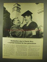 1965 Puerto Rico Development Ad - Graduation Day