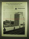 1965 Fruehauf Trailers Ad - Tonnage Rides The Rails
