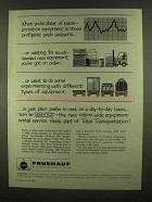 1965 Fruehauf Trailers Ad - Short of Transportation
