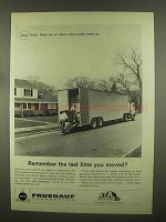 1965 Fruehauf Trailers Ad - Last Time You Moved