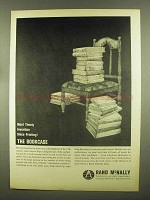 1965 Rand McNally Publishers Ad - Most Timely Invention