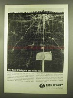 1965 Rand McNally Publishers Ad - Puts You On the Map