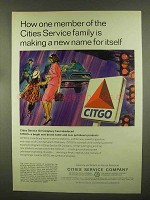 1965 Citgo Petroleum Ad - Making a New Name