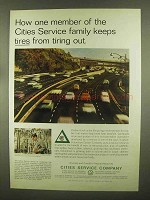 1965 Cities Service Columbian Carbon Company Ad