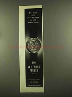 1965 Audemars Piguet Skeleton Wrist Watch Ad