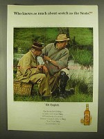 1965 Haig & Haig Scotch Ad - Who Knows As Much