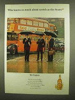 1965 Haig & Haig Scotch Ad - Who Knows