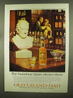 1965 Old Grand-Dad Boubon Ad - Always There