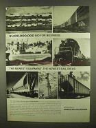 1965 Association of American Railroads Ad - Business