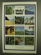 1965 Hawaii Tourism Ad - Live Your Dreams In Islands