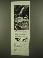 1965 Wisconsin Tourism Ad - If You Found a Land