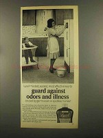 1965 Lysol Disinfectant Ad - Guard Against Odors