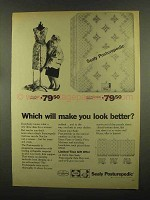 1965 Sealy Posturepedic Mattress Ad - Look Better