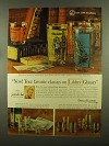 1965 Libbey Glasses Ad - Classics Collection, Rainbow