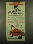 1965 Wheel Horse Reo Model LCP-521 Lawn Mower Ad