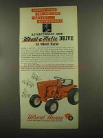 1965 Wheel Horse Wheel-a-Matic Drive Lawn Tractor Ad
