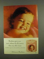 1965 Northern Toilet Paper Ad - Softness