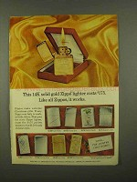 1965 Zippo Lighter Ad - Like All Zippos, It Works