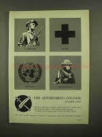 1965 The Advertising Council Ad - Smokey the Bear