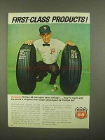 1965 Phillips 66 Petroleum Ad - First-Class Products