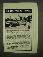 1965 Airstream Land Yacht Trailer Ad - Fun Way Travel