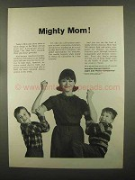 1965 Invester-Owned Electric Light & Power Companies Ad - Mighty Mom