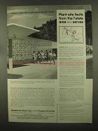 1965 American Electric Power System Ad - Plant Site
