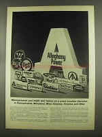 1965 Allegheny Power Ad - Managements You Follow