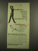 1965 Wall Street Journal Ad - Divots & Dividends