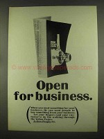 1965 Yellow Pages Ad - Open For Business